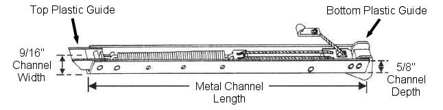 60 Series Channel Window Balances