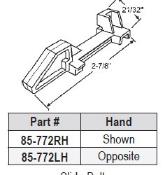 Tilt Latches and Window Parts